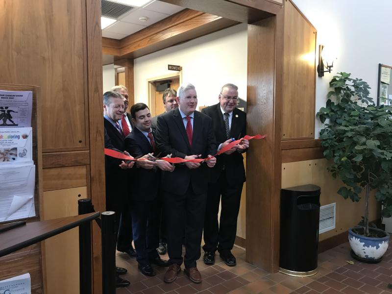 Erie County Clerk Mickey Kearns opens Elma Pistol Satellite Office
