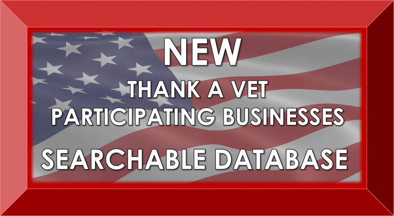 Click for searchable Thank A Vet database