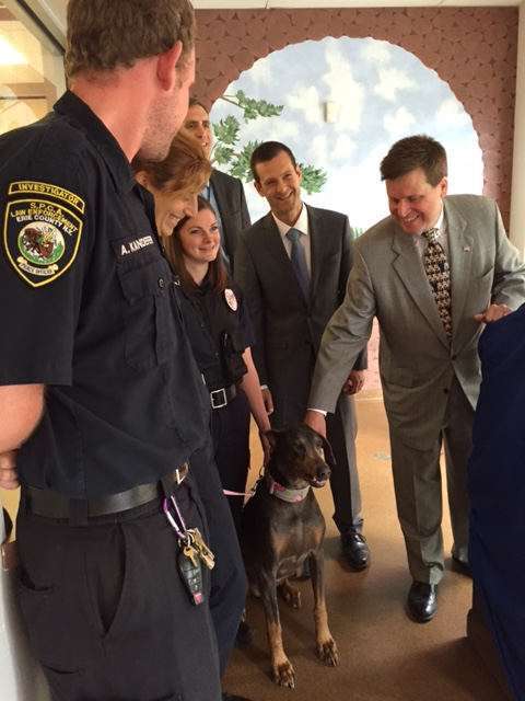 Da Flaherty And Spca Serving Erie County Join Forces To