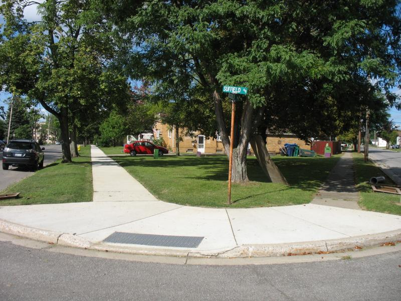 Village of Depew- Sidewalk Replacement project- Kokomo and Suffield Streets.