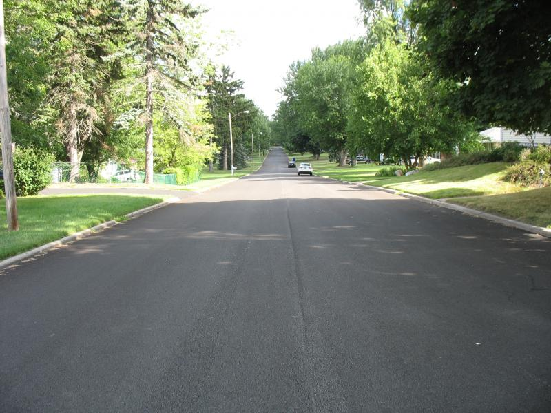 Town of West Seneca- Road Paving project- Woodlane and Chamberlin Streets.