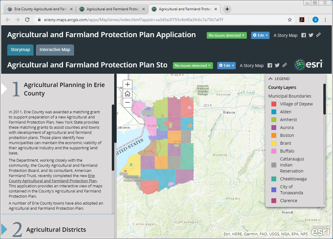 Agriculture and Farmland Protection Application