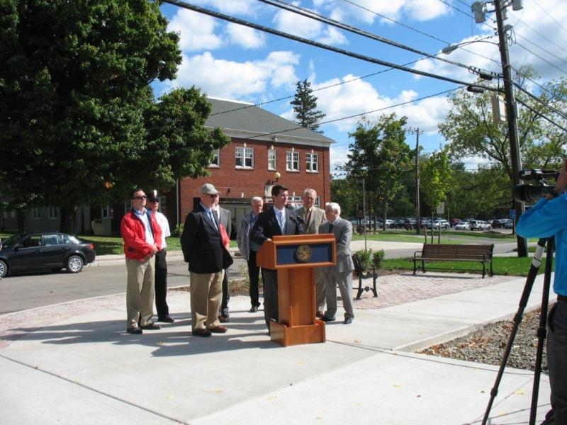 Village of Springville - 2015 - Press event for Smarth Growth Project Phase II