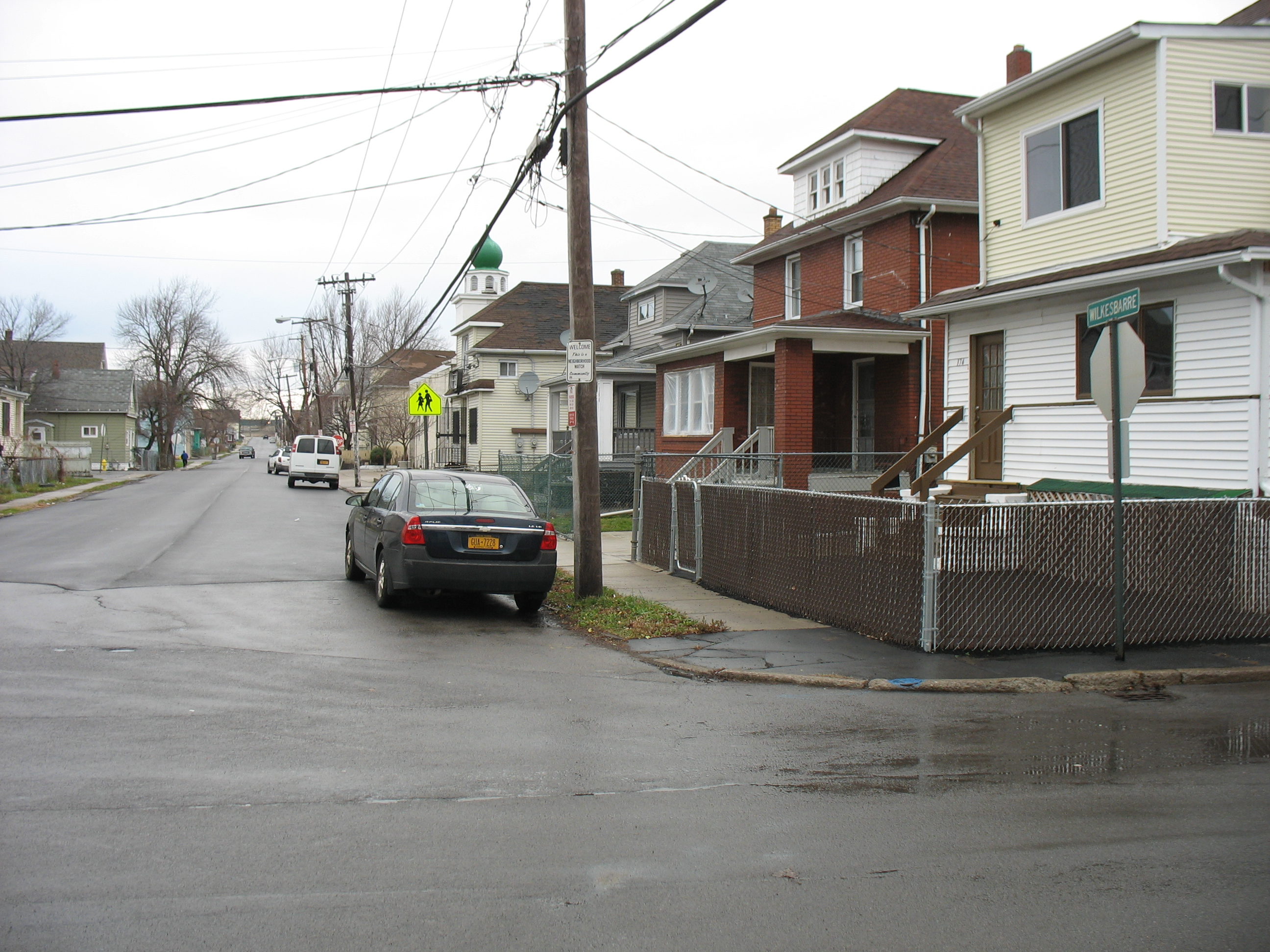 2015 - City of Lackawanna - Road paving project - Wilkesbarre Streets