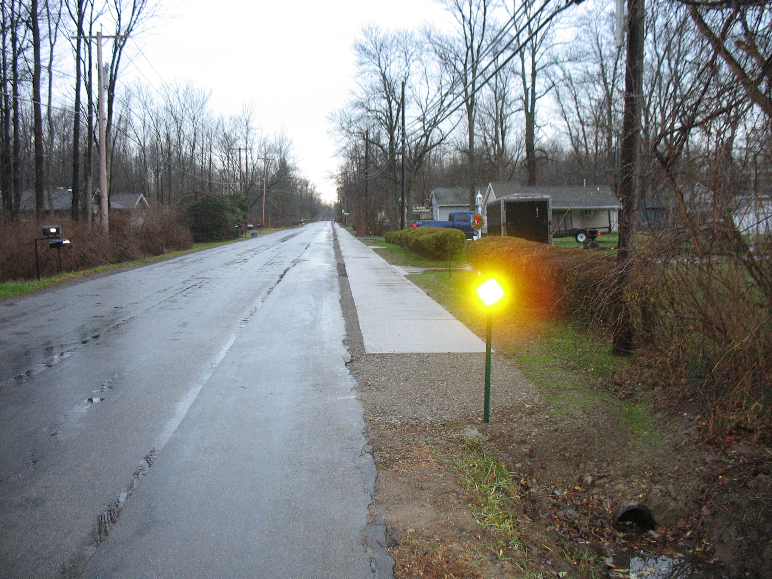 Town of Evans - Sidewalk installation project - Kennedy Street