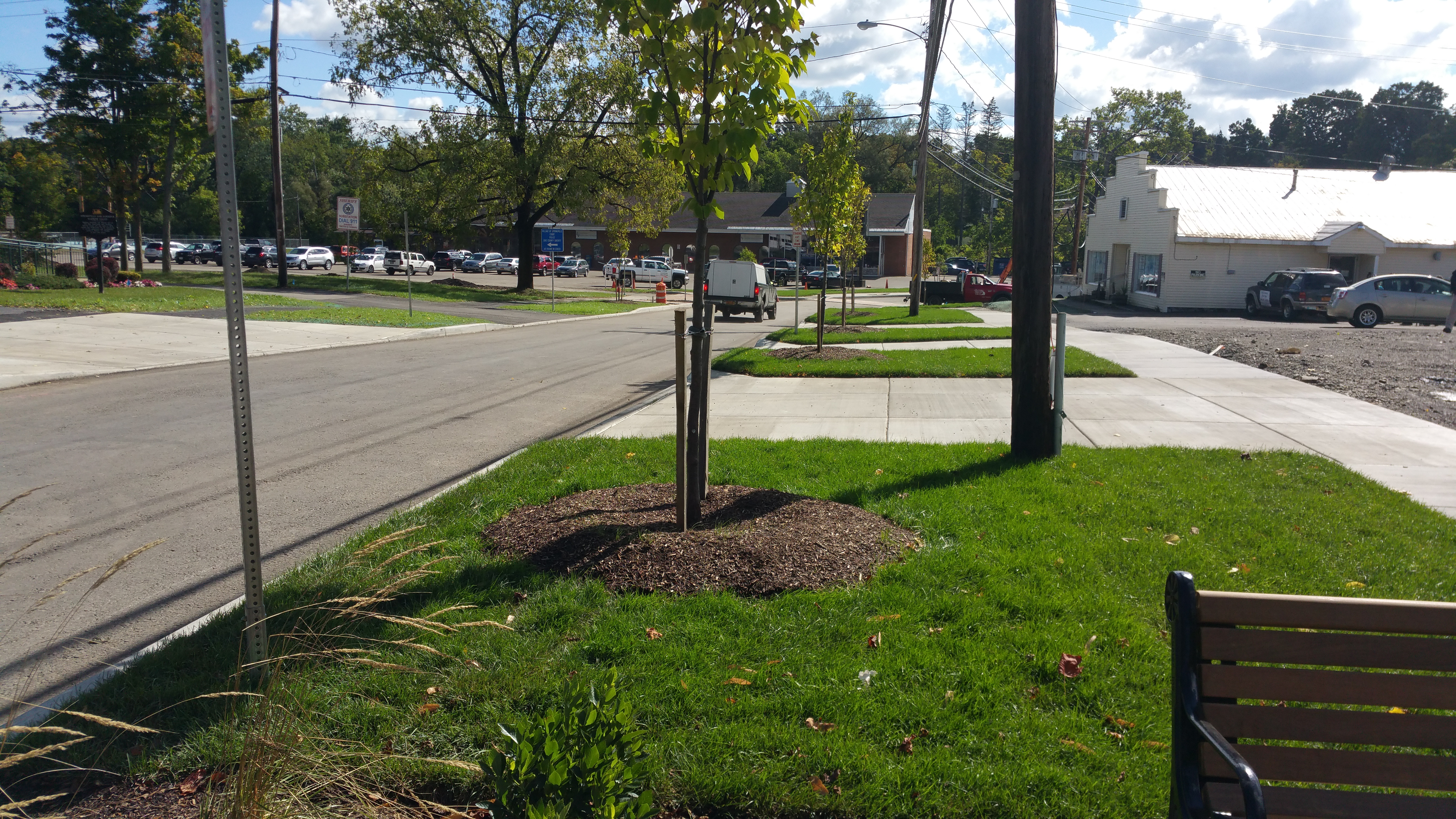 Village of Springville - 2015 - Smart Growth project - Streetscape Amenities