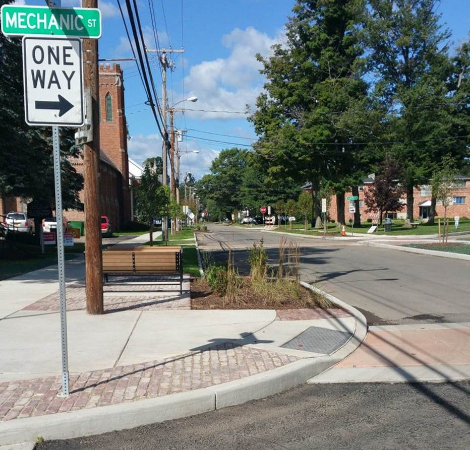Village of Springville - 2015 - Smart Growth project - Street Aesthetics and Safety Improvements