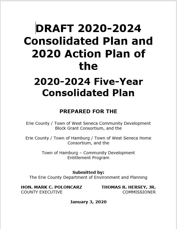 2020-24 Consolidated Plan and 2020 Action Plan