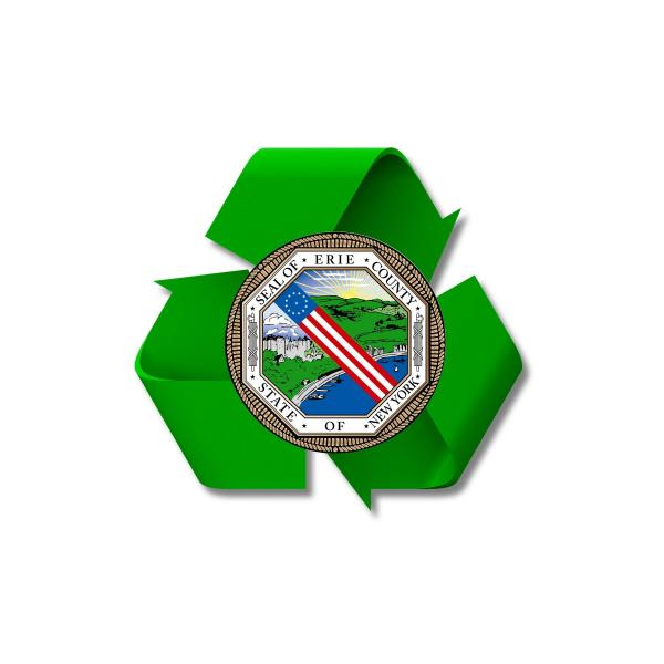 Erie County Recycling Logo