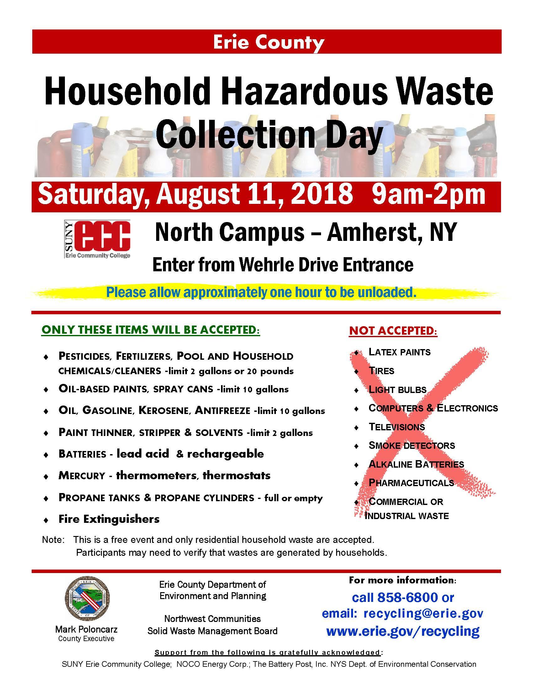... Array - 2018 household hazardous waste collection northtowns  environment rh www2 ...