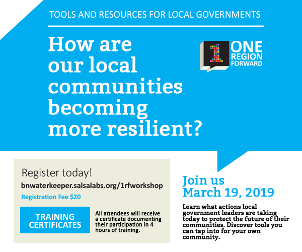 Local Government Training Opportunity: Local Communities Becoming More Resilient