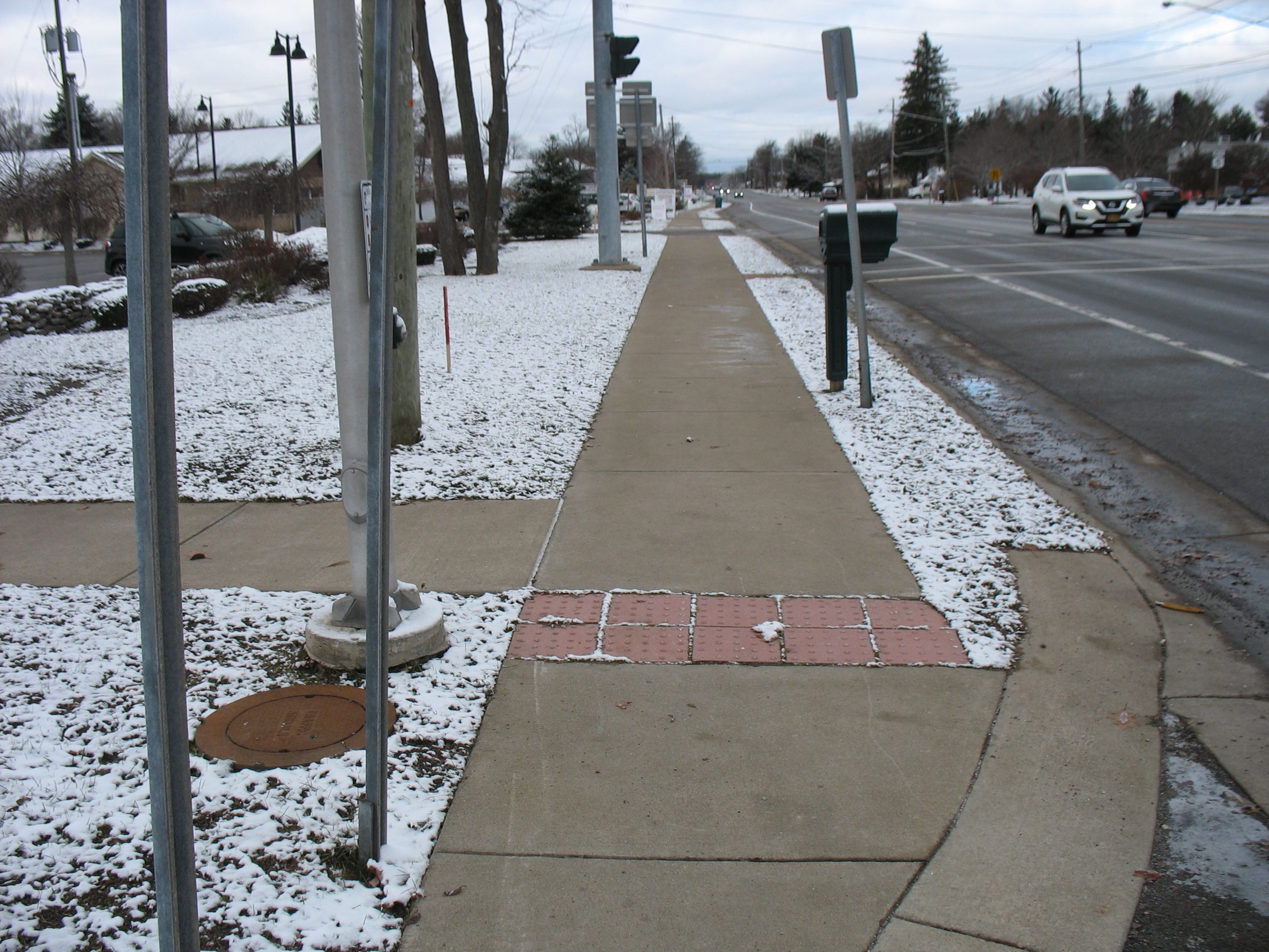 Town of Clarence- 2018- Main Street Sidewalk Installation 2
