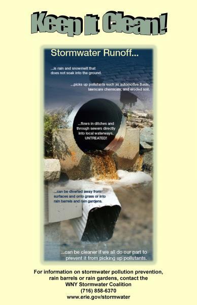 Erie County Stormwater Management Program Documents