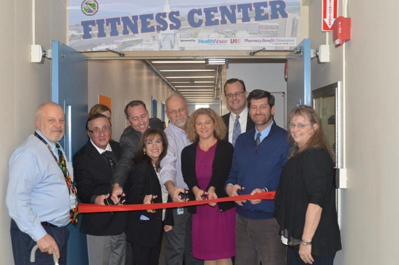 Fitness Center Ribbon Cutting