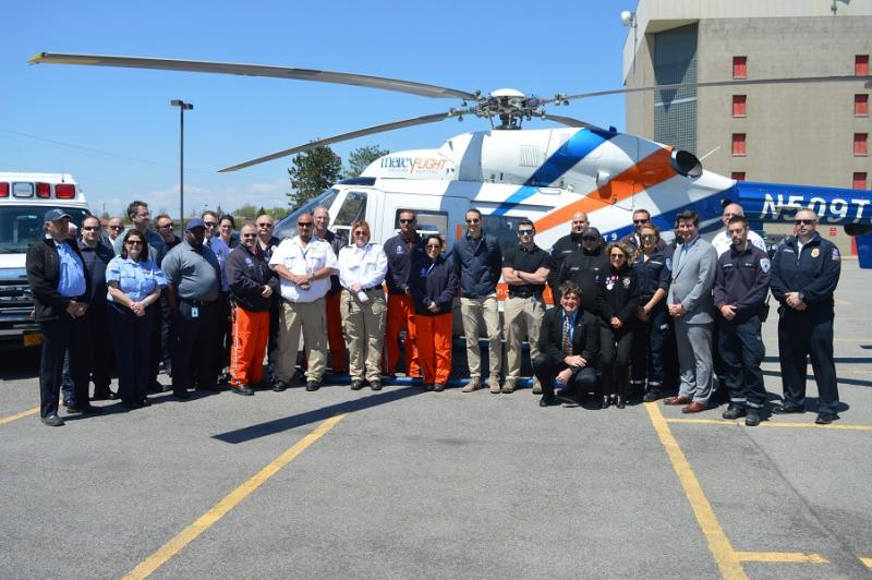 EMS Week group photo