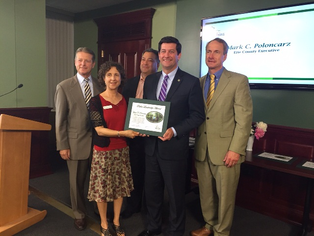 County Executive Receives Parks Award