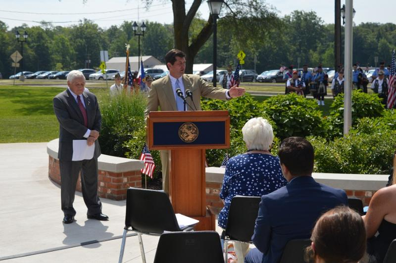 Poloncarz Speaks About Blue Star Memorial