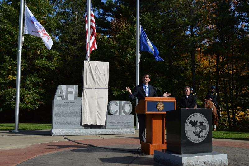 Poloncarz Dedicates Worker's Memorial