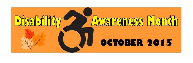 Disability Awareness Month