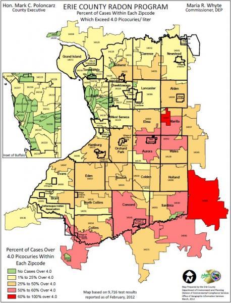Radon Map Portland