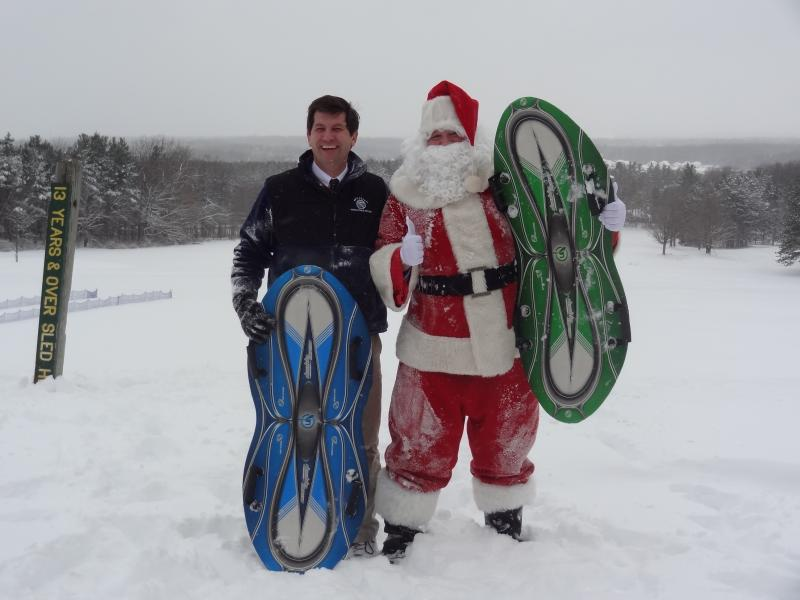 Poloncarz and Santa