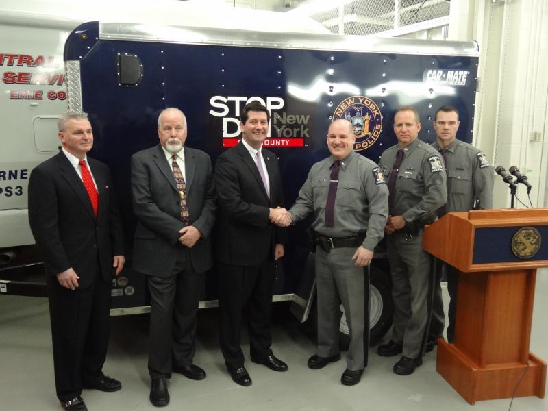 Stop DWI Trailer Donated