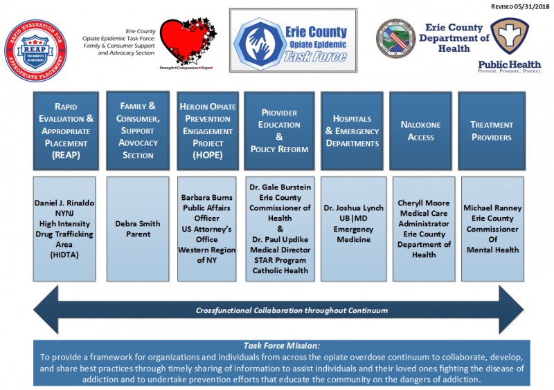 Opiate Epidemic Task Force   Erie County, NY Department of