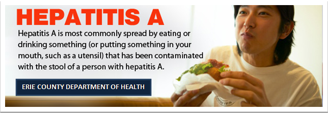 Ways Hepatitis A is commonly spread