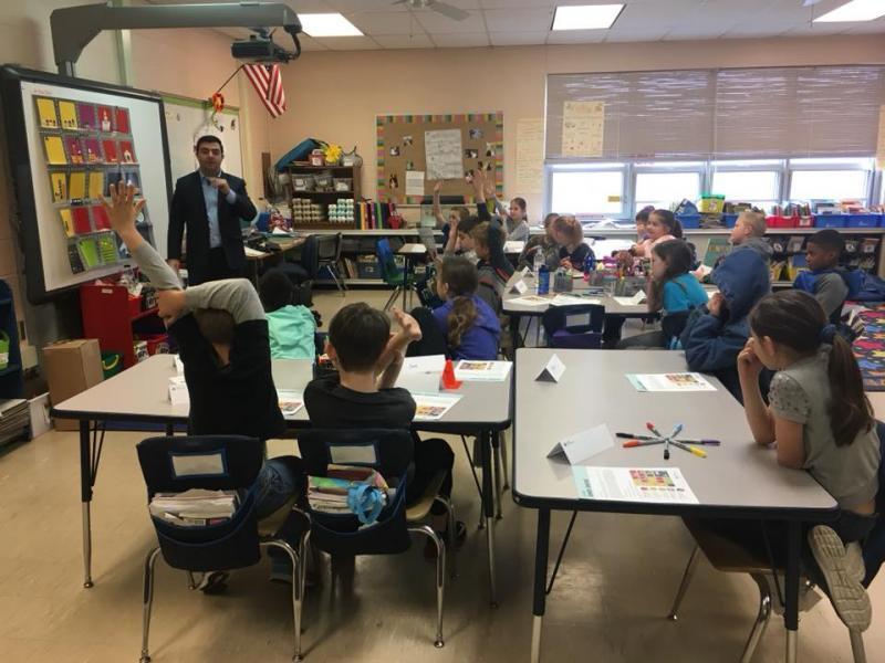 Lorigo teaches West Seneca students through Junior