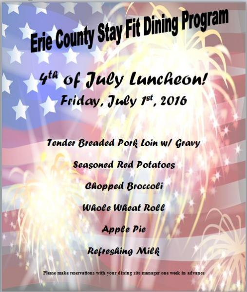 4th of July Luncheon!
