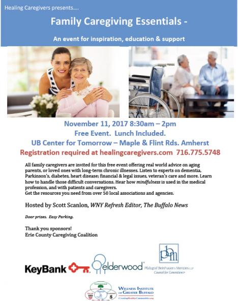 Caregiver Event Flyer