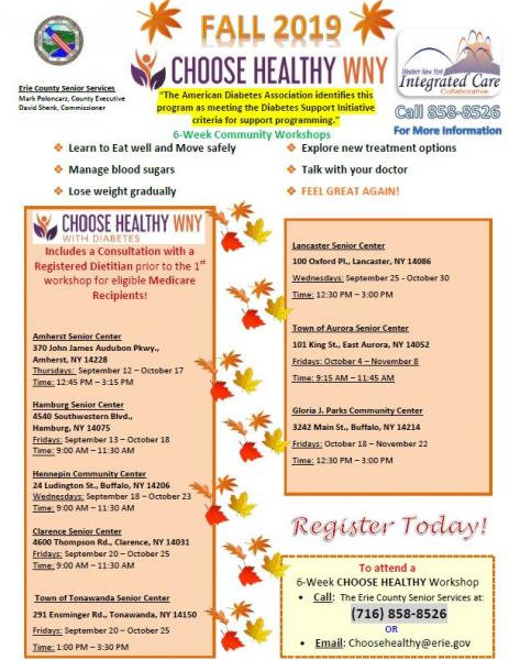 Choose Healthy Fall 2019