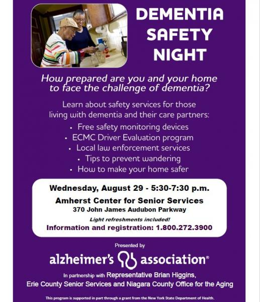 Dementia Safety Night