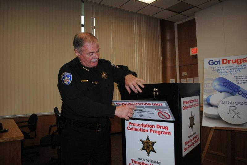 Sheriff Tim Howard announces Prescription Drug Drop Box Locations in WNY