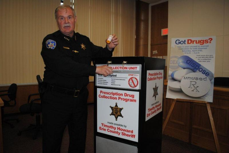 Sheriff Tim Howard Announces Collection figures for Unwanted Drugs