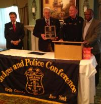 Sheriff Tim Howard Receives the 2013 Law Enforcement Officer of the Year Award