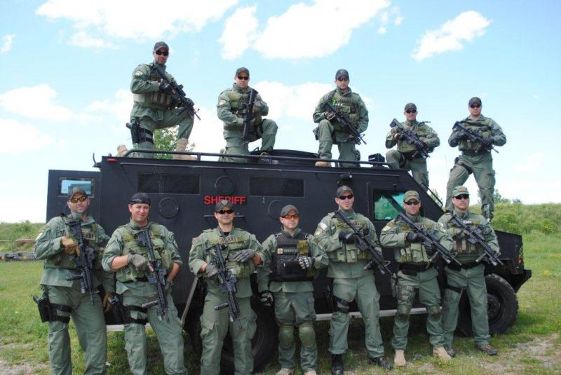 The Erie County Sheriff's SWAT Team