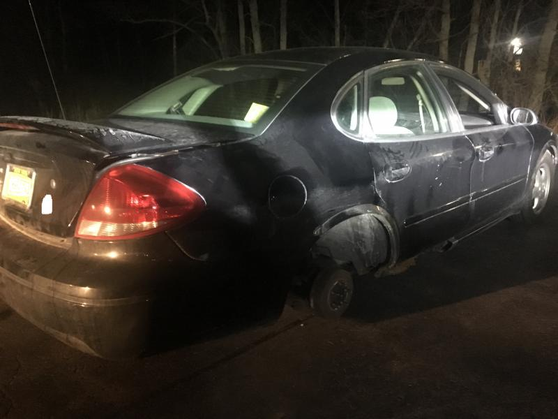 Grand Island DWI Suspect's Car