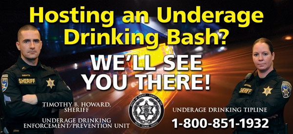 Underage Drinking Enforcement/Prevention Unit Media Campaign