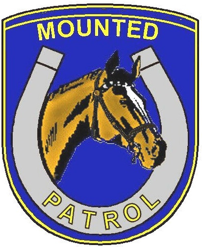 mounted logo