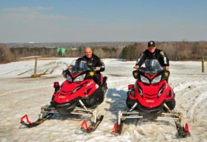 ECSO Snowmobile Unit