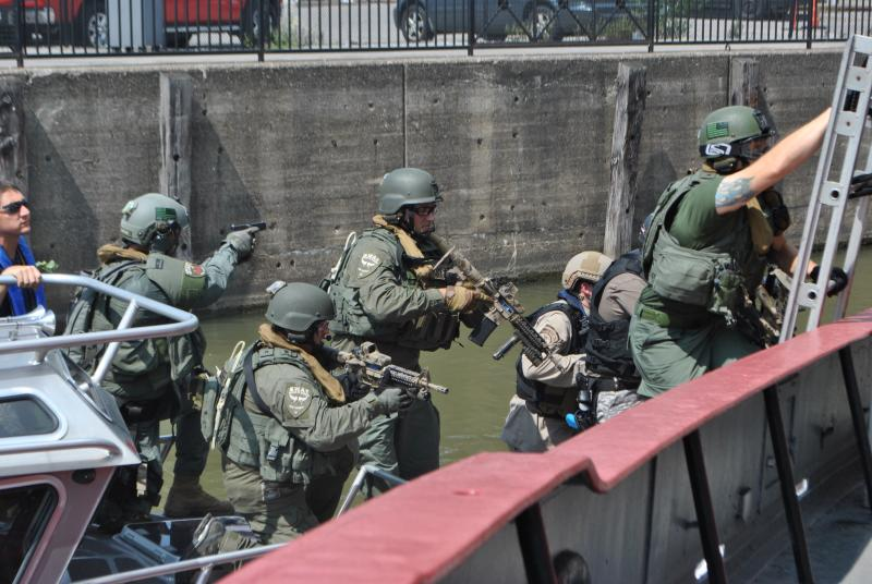 ECSO SWAT Team Training Exercise