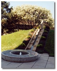 Erie County Police Memorial fountain