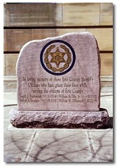 Erie County Sheriff's Office Memorial