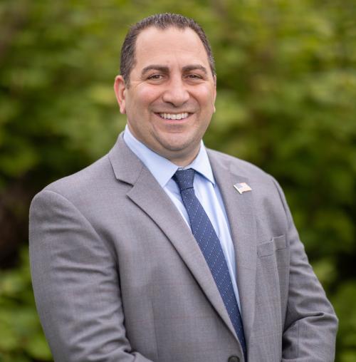 District 8 Legislator Frank J. Todaro