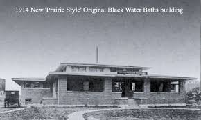 original black water bath house, W. Main St.