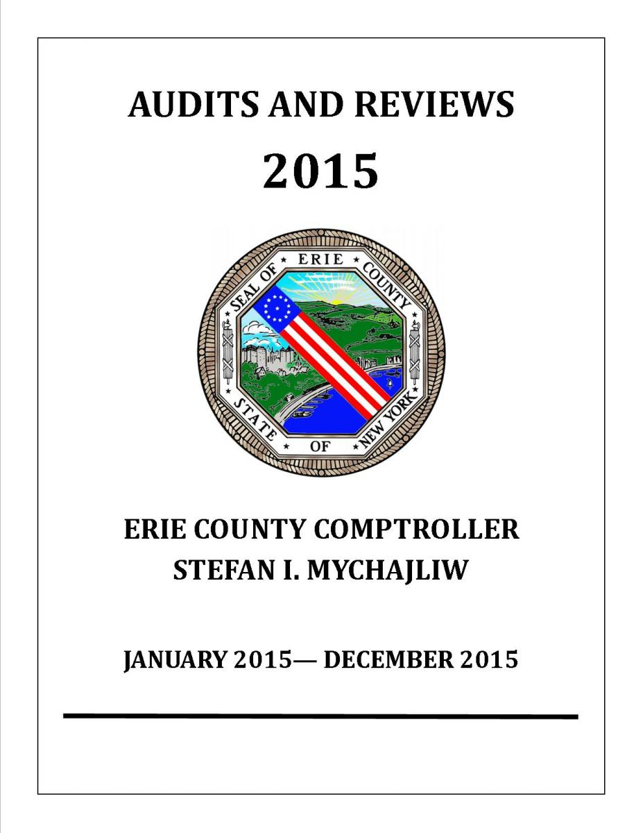Audits & Reviews 2015