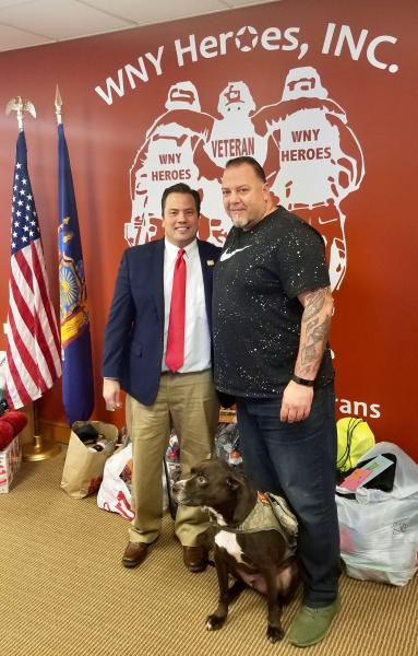 A Veterans Christmas.Comptroller Mychajliw S Office Partners With Wny Heroes To