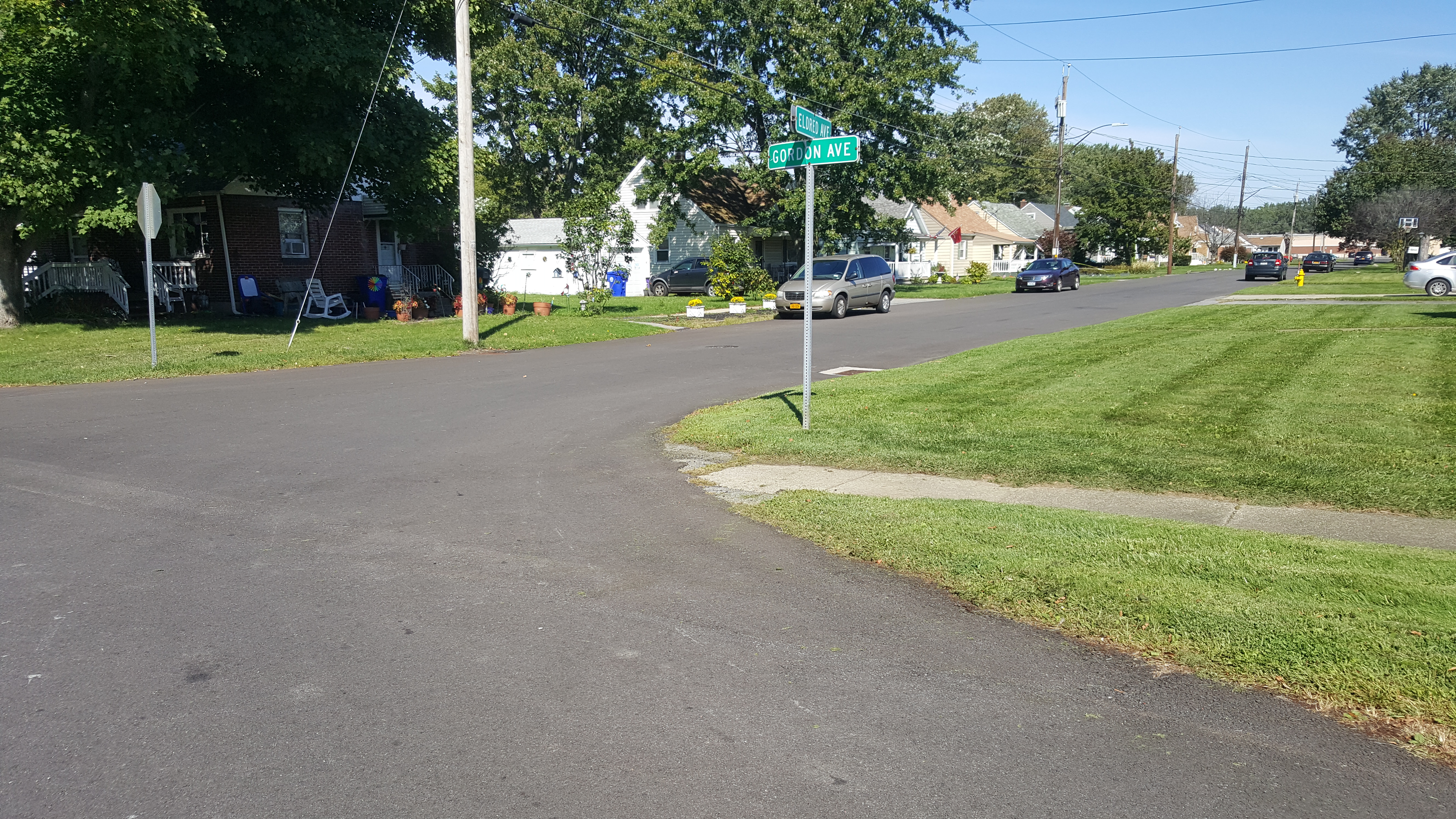 Town of West Seneca Paving Project