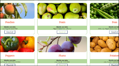Fresh Produce Finder